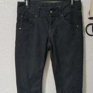 Athleta Frontier sz 4 dark wash jeans